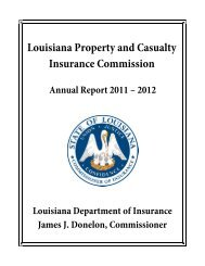 Louisiana Property and Casualty Insurance Commission