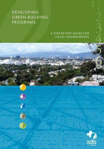 Developing green BuilDing programs - Global Green USA