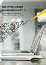 Benchmark digitale dienstverlening Nederlandse gemeenten 2012