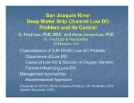 San Joaquin River Deep Water Ship Channel Low DO Problem and ...