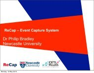 Dr Philip Bradley Newcastle University