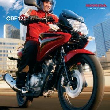daten TECHNISCHE CBF125 c - Honda