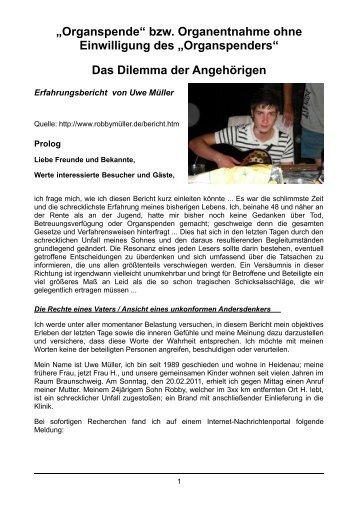 klicken! - Informationsstelle Transplantation und Organspende