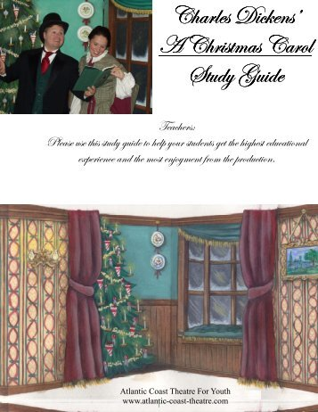 Christmas Carol Study Guide - Atlantic Coast Theatre