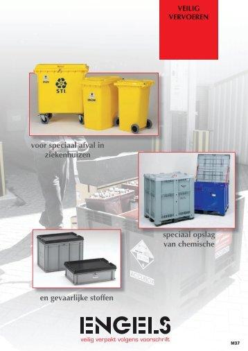 Overzicht van de logistieke middelen voor gevaarlijk afval of ...