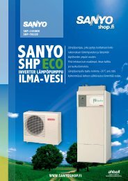 Esite Sanyo CO2 Eco 4,5kW