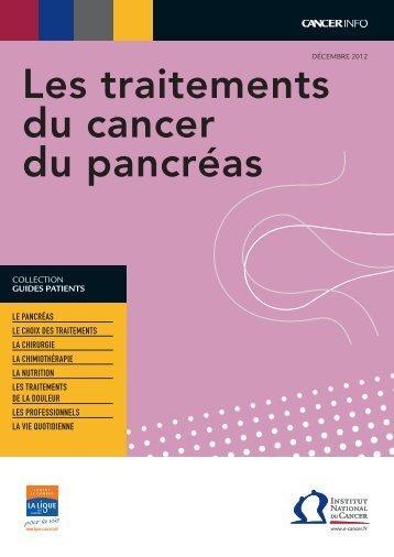 4 pages - Institut National Du Cancer