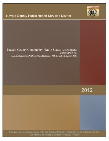 Community Health Status Assessment, Navajo County