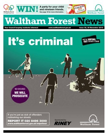 Issue 32: Could you be a snow angel? - Waltham Forest Council