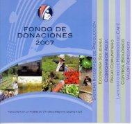 Fondo de Donaciones 2007 - Cuenta del Milenio - Honduras