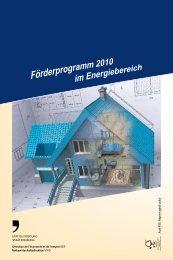 Förderprogramm des Kantons Freiburg - Region Sense