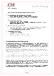 Résultats 1er semestre 2013 - Eurazeo