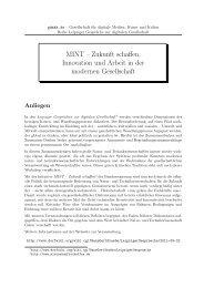 Faltblatt - Prof. Dr. Hans-Gert Gräbe