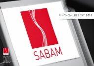 FINANCIAL REPORT 2011 - SABAM.be