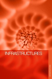 Annuaire Genopole - Les infrastructures 2012