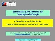 Fomento Cogeração - Workshop - Cogen