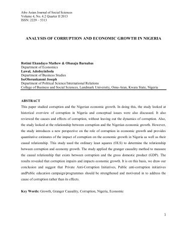 an assessment of corruption in the (hcsdi) to assess the quality of the reproduction of human capital  negative  multiplier effect: an increase in the corruption of the socio-economic system of the.