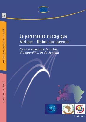 Le partenariat stratégique Afrique - Union européenne - Europa