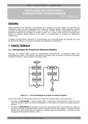 Simulação de Circuitos e Dispositivos Programáveis - PCS - USP