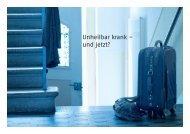 Unheilbar krank – und jetzt? - admin.ch