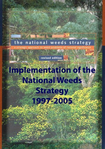 Report by the Australian Weeds Committee on the ... - Weeds Australia