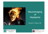 Radiographic Evaluation of the Headache - Healthcare Professionals