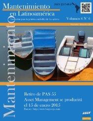 Mantenimiento en Latinoamérica Vol 6 N°6