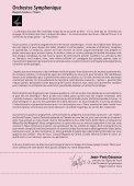 Orchestre Symphonique - Integra - Page 4
