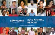 Download our 2012 Annual Report - Partners Worldwide