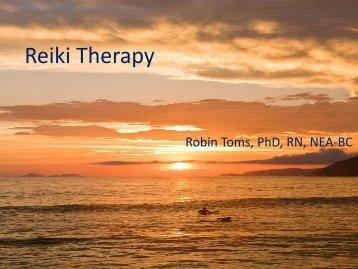 Reiki Therapy - IUPUI