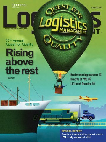 Logistics Management - August 2010