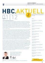 Ausgabe 1/12 - Hochschule Biberach