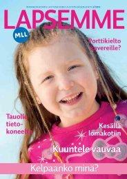 Lapsemme 2/212 - Mannerheimin Lastensuojeluliitto
