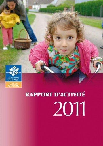 Rapport d'activité - Caf.fr