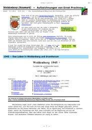 Leben in Woldenberg 1945 - Dobiegniew / Woldenberg - khd-research