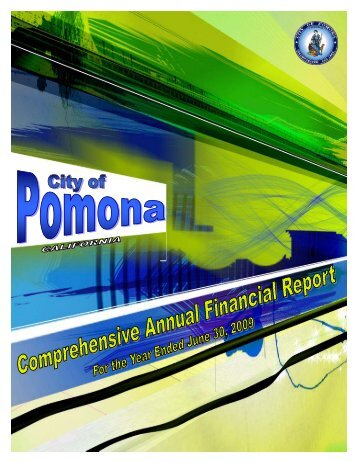 2008-2009 CAFR - City of Pomona