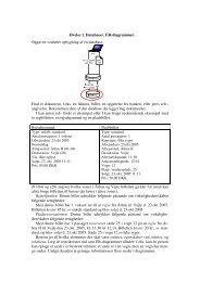 Opgave 1. ER-diagram