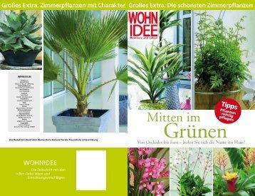Wohnideen - Gerhardt-Blumen