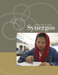 Synergos 2003 Annual Report