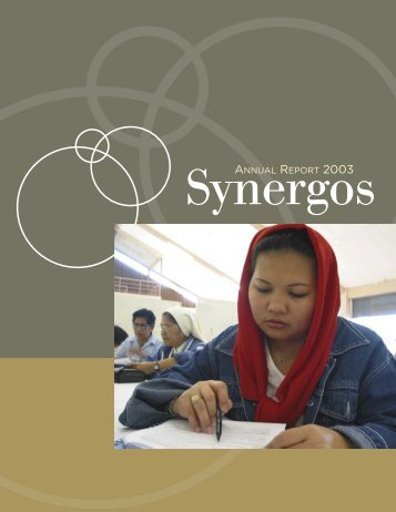 Synergos 2003 Annual Report