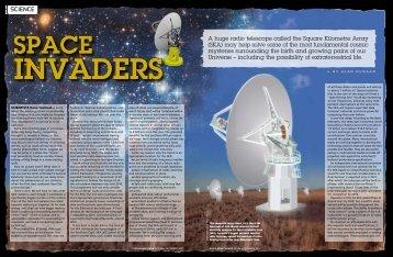 Space invaders - SKA