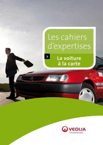 Les cahiers d'expertises - Transports