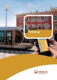 Portfolio of expertise - Transports
