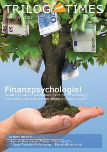 Newsletter - trilog || marketing, vertrieb, marktforschung