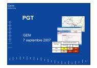 PGT - CETE Méditerranée