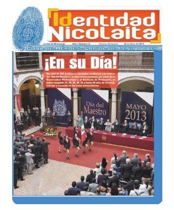 22 de Mayo del 2013 - La Voz de Michoacán