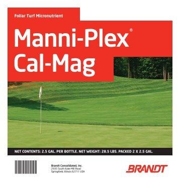 Manni-Plex Cal-Mag - Brandt