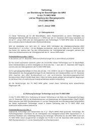 TV-Ü AWO NRW - Arbeitgeberverband AWO Deutschland eV