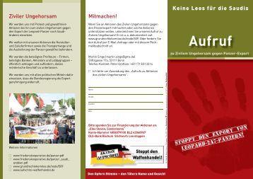 Aufruf - Die Linke. Berlin