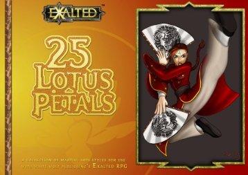 25 Lotus Petals